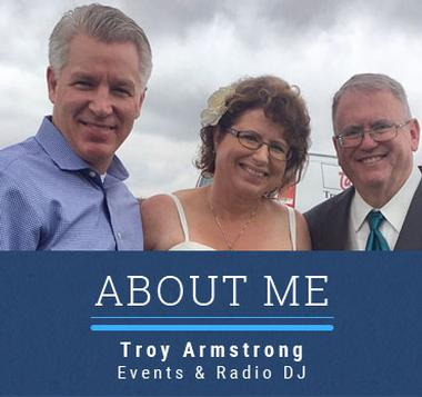 Graphic link for About Me page for Troy Armstrong